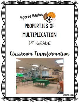 3rd Grade Multiplication Properties Classroom Transformation!
