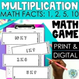 3rd Grade Multiplication Scoot - Multiply by 1, 2, 5, & 10
