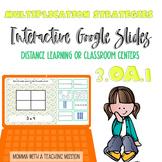 3rd Grade Multiplication Strategies 3.OA.1 Google Slides G