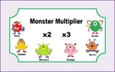 Multiplication Task Cards for Math Center (x 2s and 3s) fo