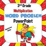 3rd Grade Multiplication Word Problem PowerPoint