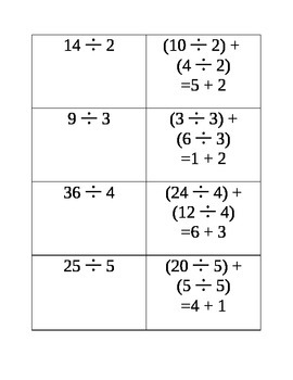 3rd Grade Multiplication and Division-Breaking Down and Regrouping