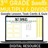 3rd Grade Multiplication and Division Digital Practice, Ta