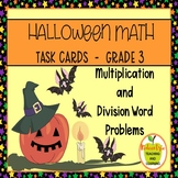 3rd Grade Multiplication and Division Halloween Word Problems