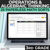 3rd Grade Multiplication and Division Math Sorts for Googl