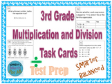 3rd Grade Module 3 Multiplication/Division Task Cards for