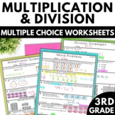 Multiplication and Division Worksheets - 3rd Grade Math Worksheets