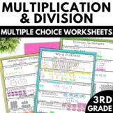 Multiplication and Division Worksheets | 3rd Grade Math Worksheets