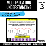 3rd Grade Multiplication within 100 | Digital Centers | Go