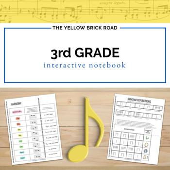 3rd Grade Music Interactive Notebook