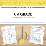 3rd Grade Music Interactive Notebook
