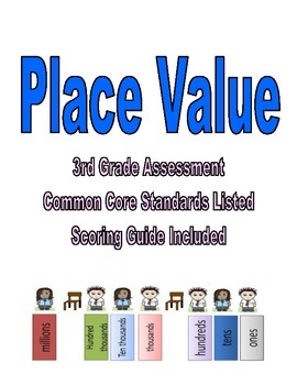 Third Grade Place Value Assessment