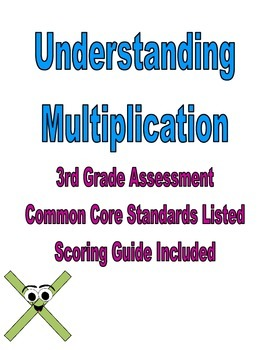 Third Grade Common Core Multiplication Assessment