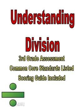 Third Grade Common Core Division Assessment