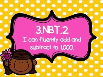 3rd Grade NBT Center Bundle
