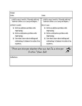 3rd Grade NBT Proficiency Rubric