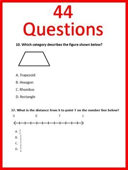 3rd Grade EOG Test Prep NC READY Math Practice Tests