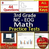 3rd Grade NC EOG Math Test Prep Practice Assessments NC Ready EOG