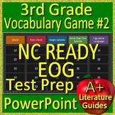 3rd Grade EOG Test Prep NC READY  - Reading Vocabulary Review Game #2