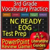 3rd Grade EOG Test Prep NC READY  - Reading Vocabulary Review Game