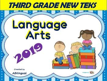 3rd Grade NEW ELAR I Can Posters