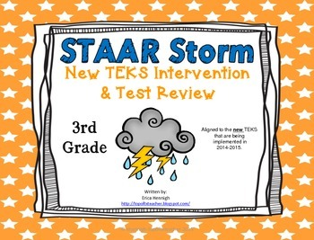 3rd Grade NEW TEKS STAAR Storm Intervention & Test Review
