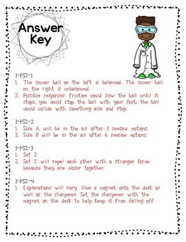 3rd Grade NGSS Assessment Tasks