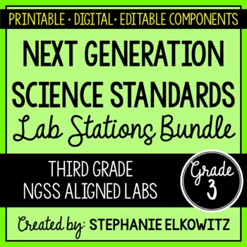 3rd Grade NGSS Lab Stations Bundle