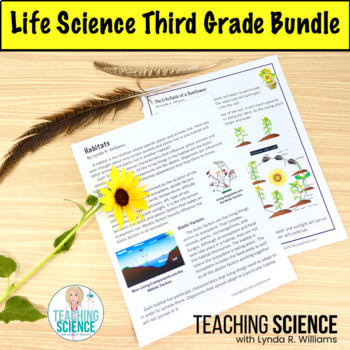 3rd Grade NGSS Life Science Complete Unit