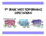 3rd Grade NGSS Performance Expectations