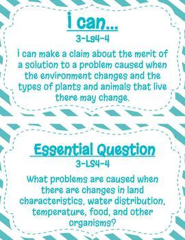 3rd Grade NGSS Poster Set