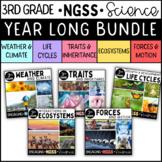 3rd Grade NGSS Science Bundle