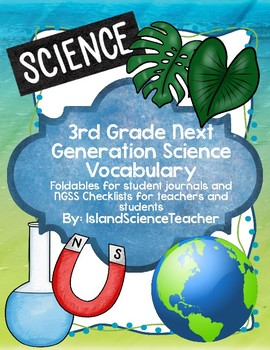 3rd Grade NGSS Vocabulary