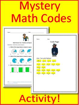 3rd Grade NWEA MAP Math Test Prep: Geometry and Fractions RIT 171-220
