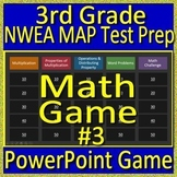 3rd Grade NWEA MAP Math Test Prep Review Game Operations and Algebraic Thinking