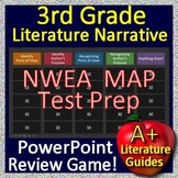 3rd Grade NWEA MAP Reading Test Prep Reading Literature Review Game