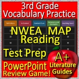 3rd Grade NWEA MAP Test Prep Reading Vocabulary Review Game