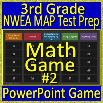 3rd Grade NWEA MAP Math Test Prep Review Game Multiplication and Division