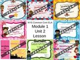 3rd Grade NYS ELA Common Core Curriculum Module 1 Unit 2 Lesson Bundle