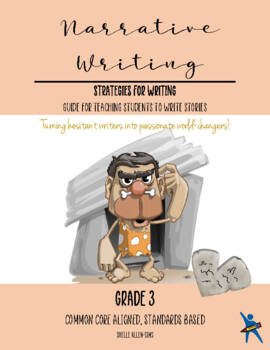 Story Narrative Writing 3rd grade Common Core Writing Lady Shelle Allen