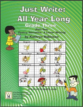 3rd Grade Daily Narrative Writing Practice {13 Weeks of Le