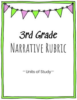 3rd Grade Narrative Writing Rubric