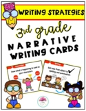 3rd Grade Narrative Writing Strategy Cards