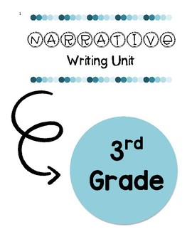 3rd Grade Narrative Writing Unit