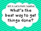 3rd Grade National Geographic Reach for Reading Unit 1-8 Big Question Posters