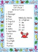 3rd Grade National Geographic Reach for Reading Unit 1-8 Spelling Word Lists