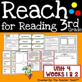 Reach for Reading 3rd Grade Unit 4 Weeks 1 and 2 by Nation