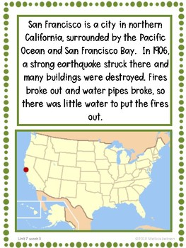 3rd Grade National Geographic Reach for Reading (Unit 7 Week 3 Supplement)