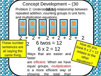 3rd Grade NYS Common Core Math Module 1 Lesson 1 FREE DOWNLOAD!