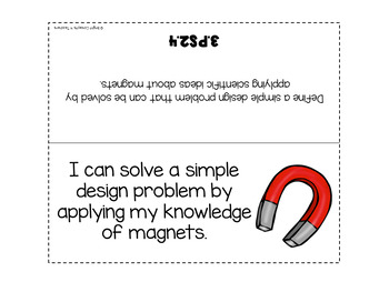 "3rd Grade NGSS ""I Can"" Standards Posters + Checklists"